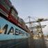 Maersk diverts ships after problems at Felixstowe